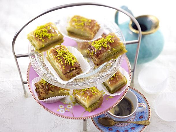 Olympia-Party - Partysnacks aus aller Welt - baklava