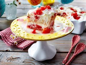 Balsamico-Erdbeer-Tiramisu Rezept