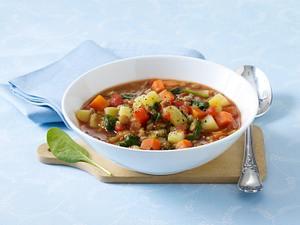 Balsamicolinsen mit Gemüse (Diäko Tag 2 Zwischendurch) Rezept
