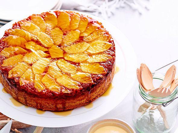 Banananas-Upside-Down-Kuchen Rezept