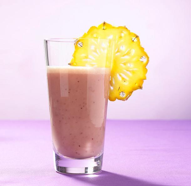 Bananen-Ananas-Preiselbeersaft Rezept