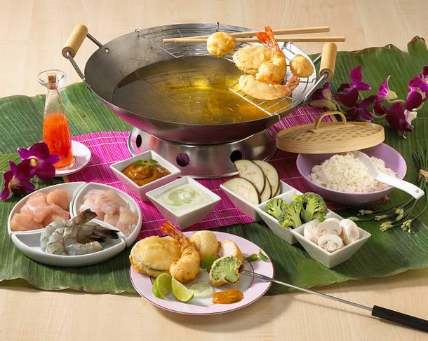 Bananen-Curry-Soße (Assiatisches Fondue) Rezept