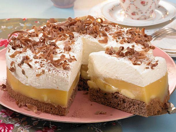 Bananen-Eierlikör-Torte Rezept