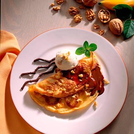 Bananen-Eierpfannkuchen Rezept