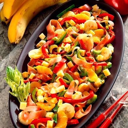 Bananen-Käse-Salat Rezept