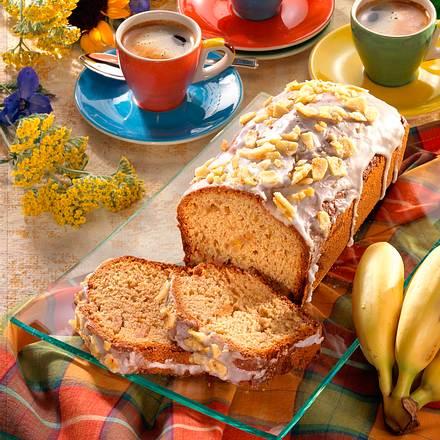 Bananen- Kastenkuchen Rezept