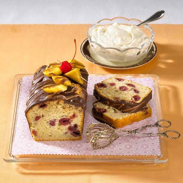 Bananen-Kirsch-Kuchen Rezept