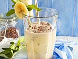 Bananen-Mandel-Smoothie mit Kakaonibs Rezept