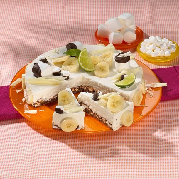 Bananen-Marshmallow-Torte Rezept