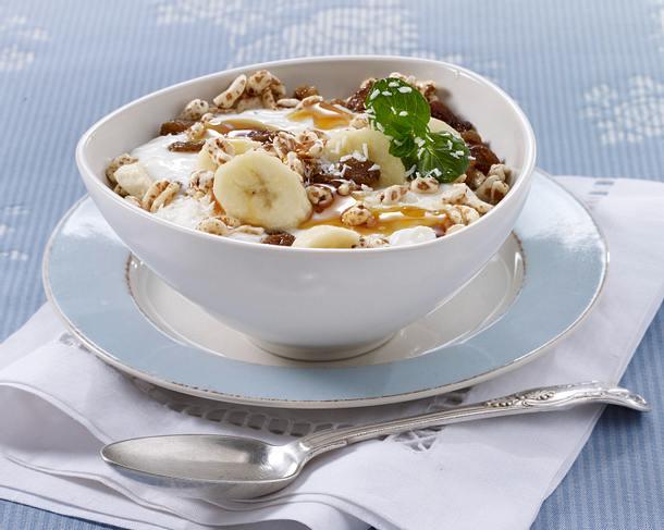 bananen m sli mit kokos joghurt rezept chefkoch rezepte auf kochen backen und. Black Bedroom Furniture Sets. Home Design Ideas