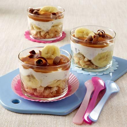 bananen quark stracciatella trifle rezept chefkoch rezepte auf kochen backen und. Black Bedroom Furniture Sets. Home Design Ideas