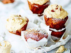 Bananen-Süßkartoffel-Cupcakes Rezept