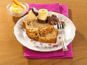 Bananen-Sandkuchen mit Mango-Mascarponecreme Rezept