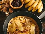 Bananen-Schoko-Pfannkuchen Rezept