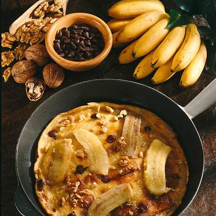 bananen schoko pfannkuchen rezept chefkoch rezepte auf kochen backen und schnelle. Black Bedroom Furniture Sets. Home Design Ideas