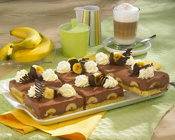 Bananen-Split-Kuchen Rezept