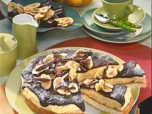Bananenkuchen mit Schokoladenguss Rezept
