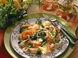 Bandnudeln mit Gemüse und Petersilien-Pesto Rezept