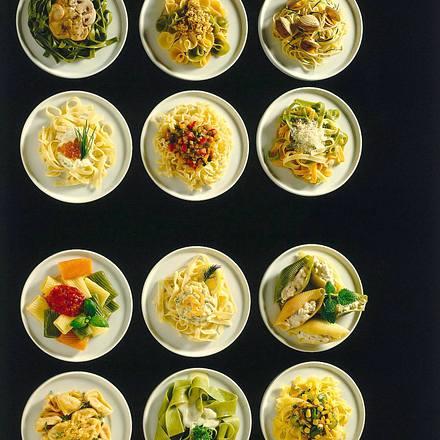 Bandnudeln mit Kaviar-Sahne Rezept