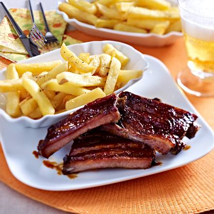 Barbecue-Spareribs Rezept