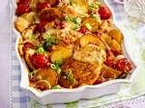 Bratkartoffel-Hähnchen-Auflauf Rezept
