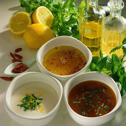 Basilikum-Joghurt-Soße Rezept