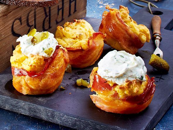 Bauernfrühstück-Cupcakes Rezept