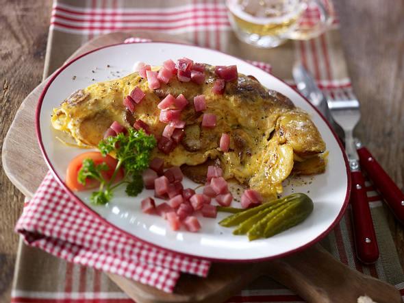Bauernfrühstück für 2 Bauern Rezept