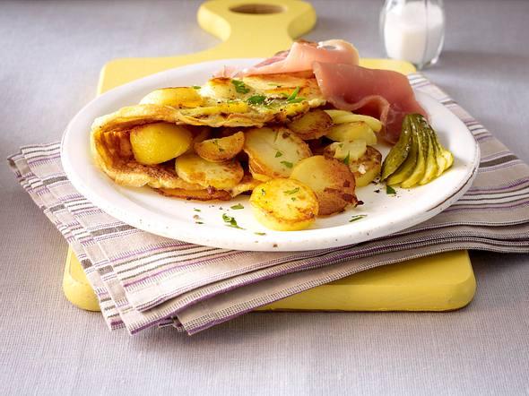 Bauernfrühstück mit Katenschinken Rezept
