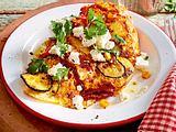 Bauernfrühstück mit Zucchini und Feta Rezept-F7675304