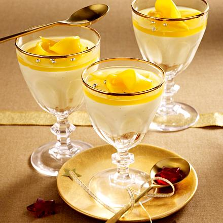 Bayerische Creme mit Mango Rezept
