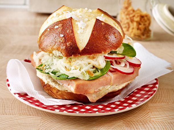 Bayrischer Blitz-Burger Rezept