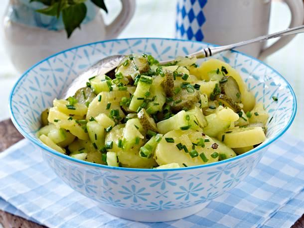 Bayrischer Kartoffelsalat Rezept