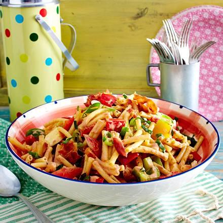 BBQ-Pasta-Salat Rezept