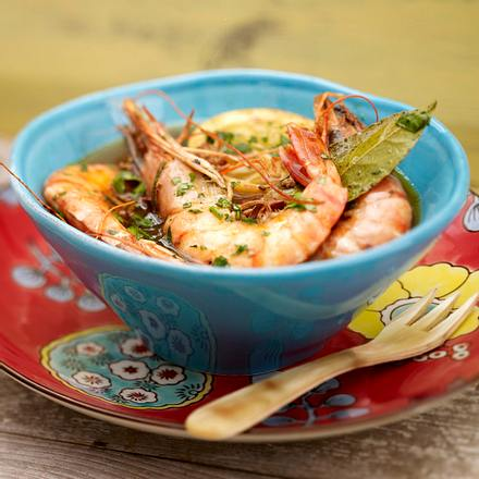 BBQ-Shrimps Rezept