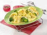 Béchamel-Soße zu Blumenkohl und Broccoli Rezept