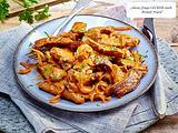 Beefsteak-Streifen in Paprika-Senf-Sahnesoße Rezept