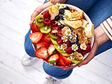 Beeren-Cheesecake-Bowl Rezept