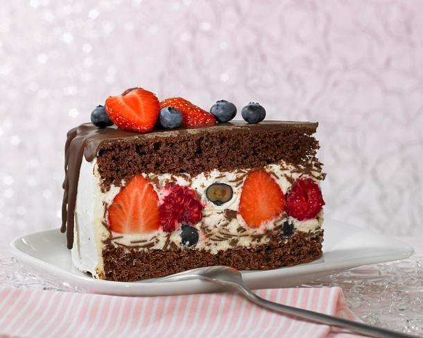 Beeren Herren-Torte Rezept