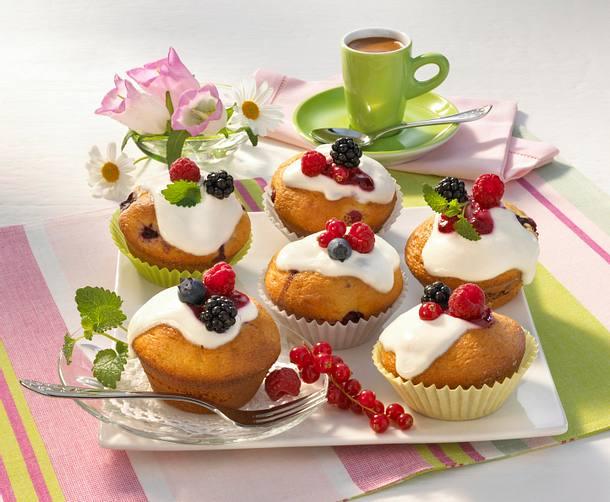 Beeren-Muffins (Diabetiker) Rezept