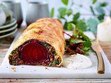 Beet Wellington für Fleischlosfreunde Rezept