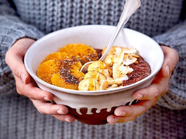 "Beglückendes Schoko-Porridge ""Good spirit"" Rezept"