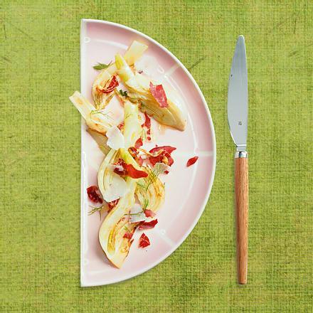 Beilage: Fenchel mit Prosciutto & Parmesan Rezept