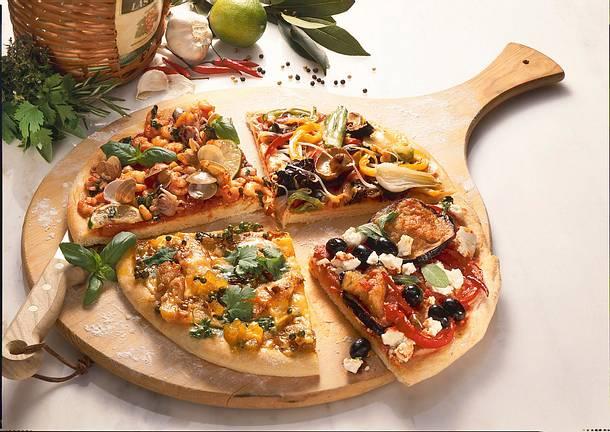 Belag für die Pizza Greco Rezept