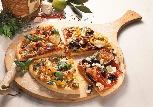 Belag für Pizza Bombay Rezept