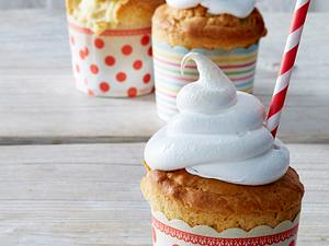 Bella-lula-Muffins mit Baiserhaube Rezept