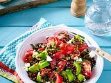 Belugalinsen-Tomaten-Salat Rezept