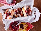 "Berliner-Sandwich ""Schwarzwälder Kirsch"" Rezept"