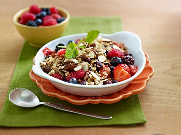 Berry Almond Breakfast Crisp Rezept