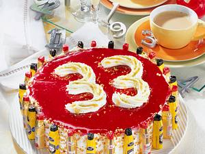 Beschwipste Kirsch-Torte Rezept